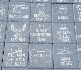 Stamp-Connection pavers